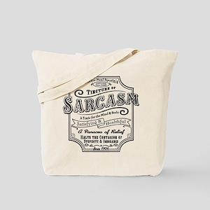 Old Tyme Sarcasm Tote Bag