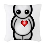 Lonely Boy Woven Throw Pillow