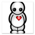 Lonely Boy Square Car Magnet 3