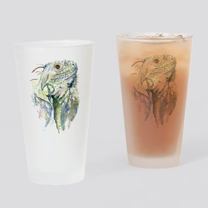 Rex the Iguana Drinking Glass