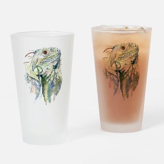Rex the Iguana Drinking Glass