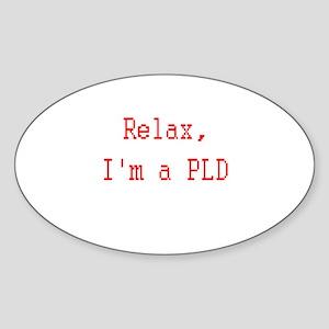 Paladin Sticker (Oval 10 pk)