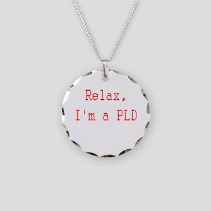 Paladin Necklace Circle Charm