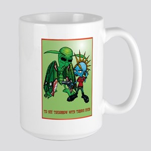 Mothman Large Mug