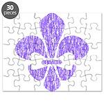 FleurDeLisPurple Puzzle