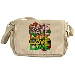 hate2love color Messenger Bag