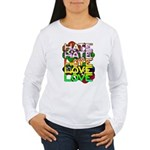 hate2love color Women's Long Sleeve T-Shirt