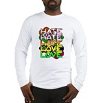 hate2love color Long Sleeve T-Shirt