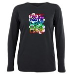 hate2love color2 Plus Size Long Sleeve Tee