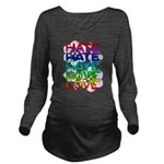 hate2love color2 Long Sleeve Maternity T-Shirt
