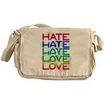 hate2love color2 Messenger Bag