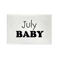 July baby Rectangle Magnet