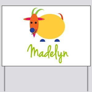 Madelyn The Capricorn Goat Yard Sign