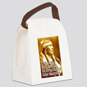 imagration bleed Canvas Lunch Bag