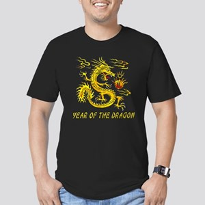 Year Of The Dragon Men's Fitted T-Shirt (dark)