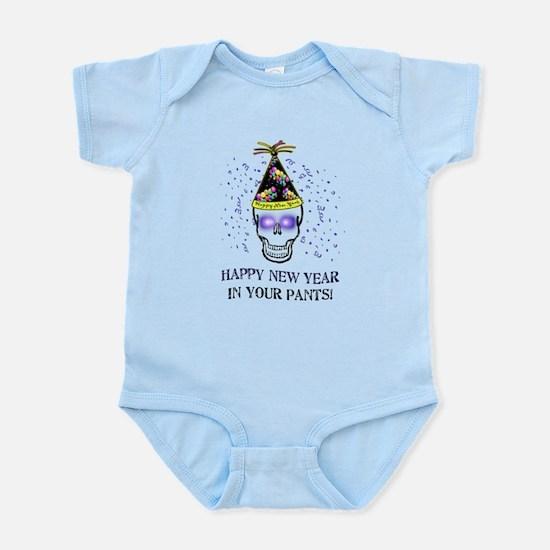 Happy New Year Pants Infant Bodysuit