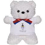 Happy New Year Pants Teddy Bear