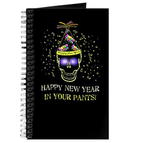 Happy New Year Pants Journal
