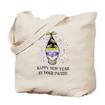 Happy New Year Pants Tote Bag
