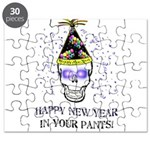 Happy New Year Pants Puzzle