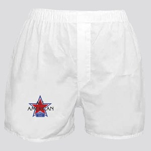All American Triplet Dad Boxer Shorts