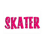 Skater 35x21 Wall Decal