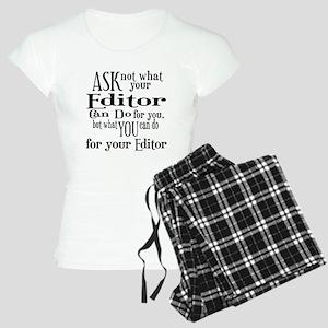 Ask Not Editor Women's Light Pajamas