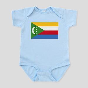 Flag of The Comoros Infant Creeper