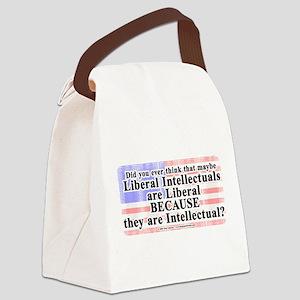 LiberalIntellectuals Canvas Lunch Bag