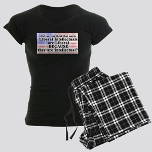 LiberalIntellectuals Women's Dark Pajamas