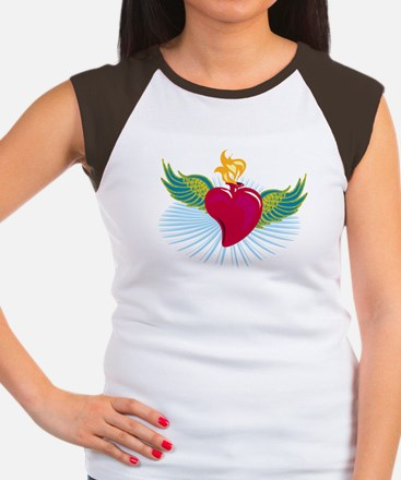 My Heart Has Wings Women's Cap Sleeve T-Shirt
