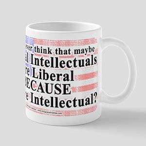 LiberalIntellectuals 11 oz Ceramic Mug