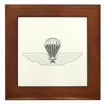 Italy Jump Wings Framed Tile