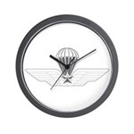 Italy Jump Wings Wall Clock