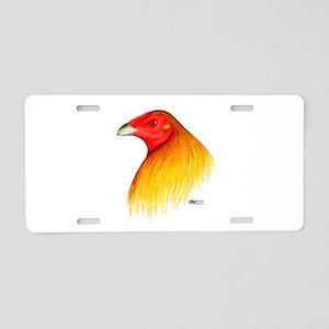 Gamecock Dubbed Aluminum License Plate