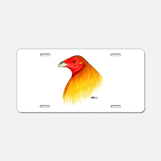 Gamecock Dubbed Aluminum License Plate