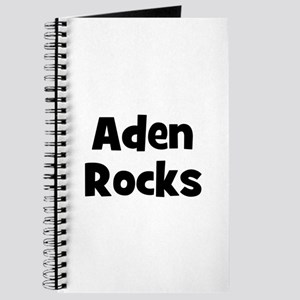 Aden Rocks Journal