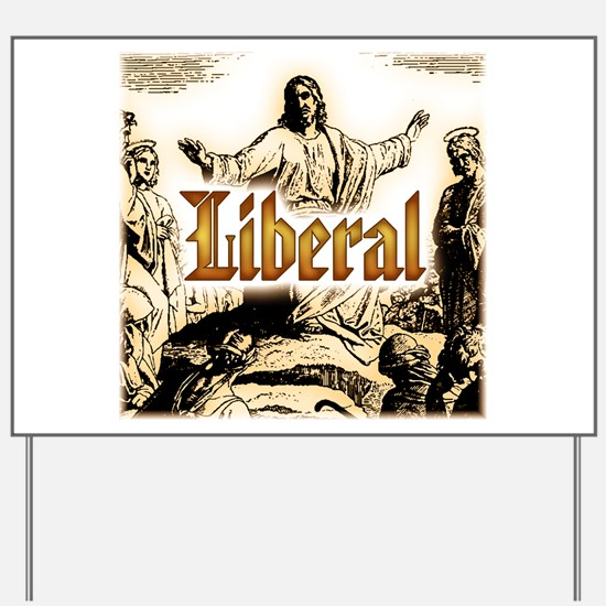 Jesus square.png Yard Sign