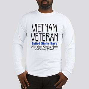 Still Kicking Vietnam Vet Nav Long Sleeve T-Shirt