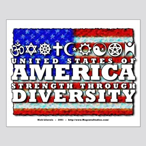 Strength through Diversity Small Poster