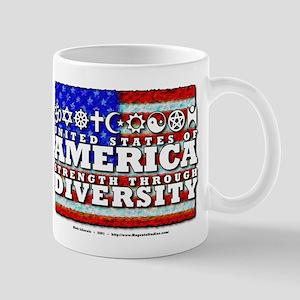 Strength through Diversity 11 oz Ceramic Mug