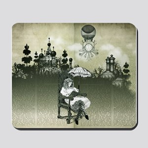 The Wonderland Reader Mousepad