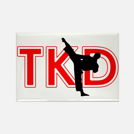 TaeKwonDo Rectangle Magnet