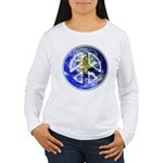 Peace on Earth Women's Long Sleeve T-Shirt