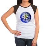 Peace on Earth Junior's Cap Sleeve T-Shirt