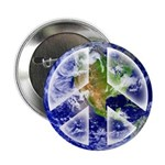 "Peace on Earth 2.25"" Button (100 pack)"