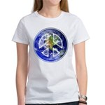 Peace on Earth Women's Classic White T-Shirt