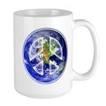 Peace on Earth 15 oz Ceramic Large Mug