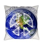 Peace on Earth II Everyday Pillow