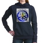Peace on Earth II Women's Hooded Sweatshirt